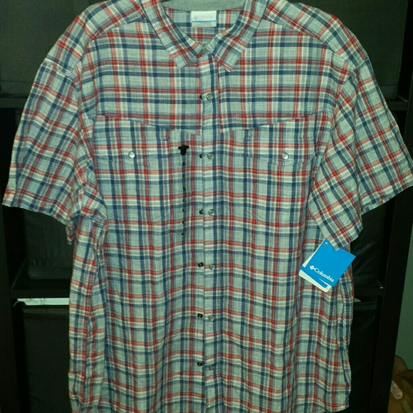 9f0417a707b Columbia Shirts   Leadville Ridge Short Sleeve Shirt Xl   Poshmark